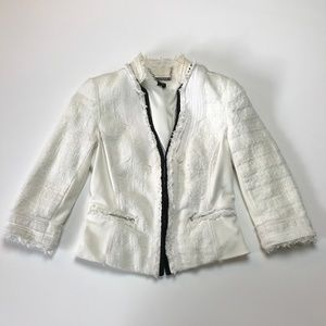 White House Black Market jacket blazer tweed